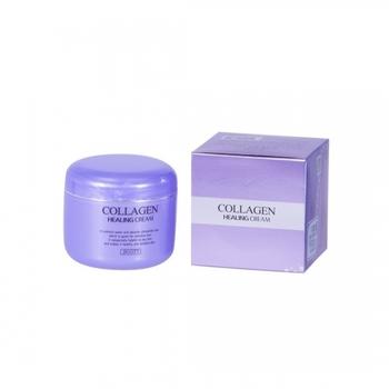 JIGOTT - Collagen Healing Cream - ЛИФТИНГ  'ДЛЯ  ЛИЦА 85 ml
