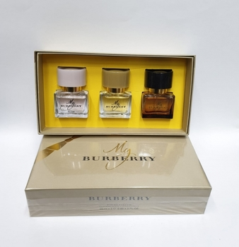Подарочный набор BURBERRY MY BURBERRY - BLUSH - BLACK 3x25 ml
