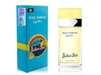 DOLCE & GABBANA LIGHT BLUE ITALIAN ZEST 100ml W
