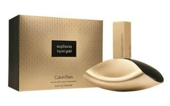 CALVIN KLEIN EUPHORIA LIQUID GOLD FOR WOMEN EDT 100ml
