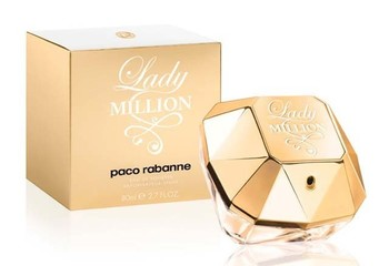 PACO RABANNE LADY MILLION FOR WOMEN EDP 80ml