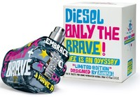 DIESEL ONLY THE BRAVE LIFE IS AN ODYSSEY FOR MEN EDT 75ml