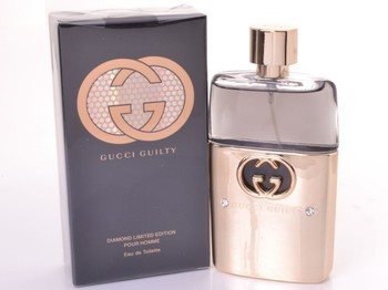 GUCCI GUILTY DIAMOND LIMITED EDITION FOR MEN EDT 90ml