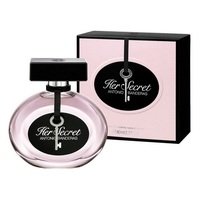 ANTONIO BANDERAS HER SECRET FOR WOMEN EDT 80ml