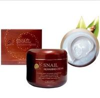 Антивозрастной крем с муцином улитки Jigott Snail Repairing Cream 100гр