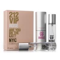 CH 212 VIP ROSE FOR WOMEN EDP 3x20ml