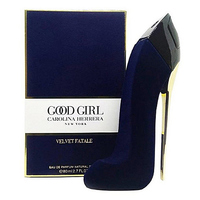 CH GOOD GIRL VELVET FATALE BLUE (БАРХАТ) FOR WOMEN EDP 80ml