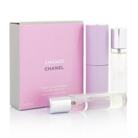 CHANEL CHANCE FOR WOMEN EDT 3x20ml