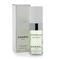 CHANEL CRISTALLE EAU VERTE FOR WOMEN EDT 100ml