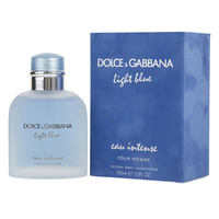 DOLCE & GABBANA LIGHT BLUE EAU INTENSE FOR MEN 100ml