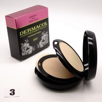 ПУДРА DERMACOL 2 IN 1 SMOOTH FINE WATERPROOF 30 SPF 30g - №3