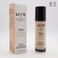 ТОНАЛЬНЫЙ КРЕМ NYX TOTAL CONTROL 30ml - №02