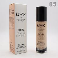 ТОНАЛЬНЫЙ КРЕМ NYX TOTAL CONTROL 30ml - №05