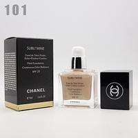 Тональный крем chanel subli'mine white 75ml - №101