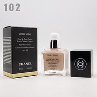 Тональный крем chanel subli'mine white 75ml - №102