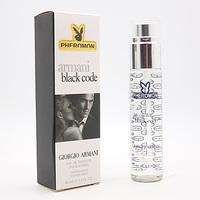 GIORGIO ARMANI BLACK CODE FOR MEN EDT 45ml (PHEROMON)