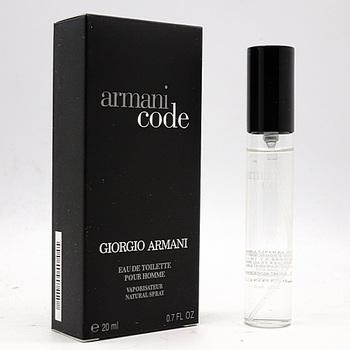 GIORGIO ARMANI CODE FOR MEN EDT 20ml (спрей)