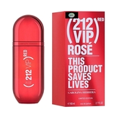 С.HERRERA 212 VIP ROSE RED LIMITED EDITION EDP FOR WOMEN 80 ML