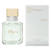 Maison francis kurkdjian allegria unisex extrait de parfum 70ml