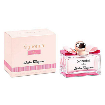SALVATORE FERRAGAMO SIGNORINA IN FIORE FOR WOMEN EDT 100ml