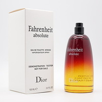 ТЕСТЕР DIOR FAHRENHEIT ABSOLUTE FOR MEN EDT INTENSE 100ml