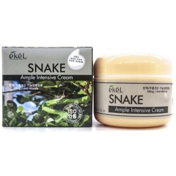 Крем для лица со змеиным ядом Ekel Ample Intensive Cream Snake 85 ml