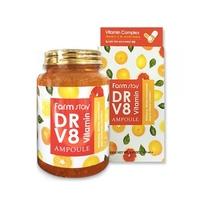 Многофункциональная витаминная сыворотка  FarmStay DR-V8 VITAMIN, 250мл DR-V8 VITAMIN, 250мл