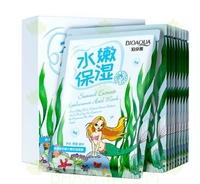 BioAqua Natural Extract Seaweed Mask (Омолаживающая маска с морскими водорослями) (10 штук)