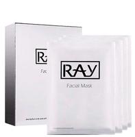 Омолаживающая Маска для Лица с Коллоидным Серебром / RAY Facial Mask Silver (10 штук)